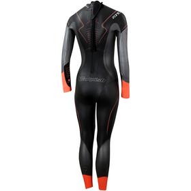 Zone3 Vanquish Pianka pływacka Kobiety, black/gun metal/coral